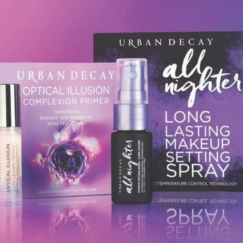 Pick up free Urban Decay samples from Debenhams