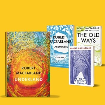 10 sets of extraordinary books by Robert Macfarlane to be claimed