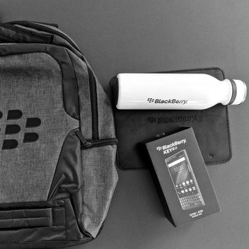Win a BlackBerry KEY2 LE & limited edition BlackBerry swag