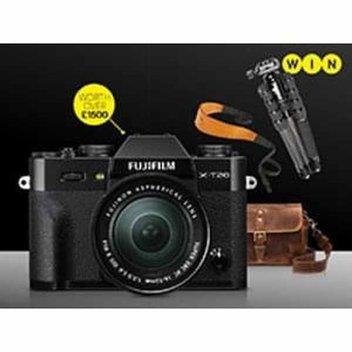 Win a Fujifilm X-T20 & Accessories worth over £1500