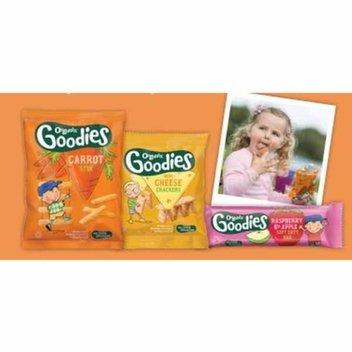 Free pack of Organic Goodies