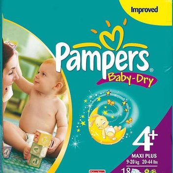 Pick up a free pack of Pampers nappies