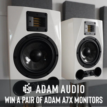 Win a pair of ADAM Audio A7X Monitors