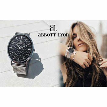 Win an Abbott Lyon Silver Chain La Ponche watch & Silver Hammered bangle