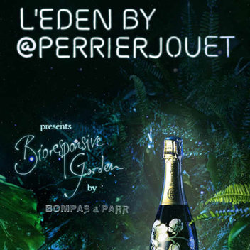 Win tickets to L'Eden by Perrier-Jouët