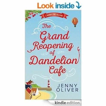Free ebook, The Grand Reopening Of Dandelion Cafe (Cherry Pie Island, Book 1) by Jenny Olive