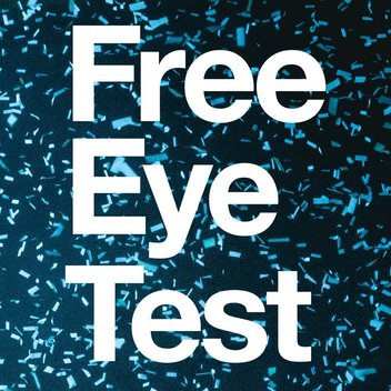 Book a free eye test with Vision Express