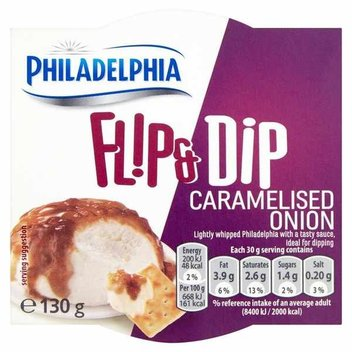 Try the new Philadelphia Caramelised Onion for free
