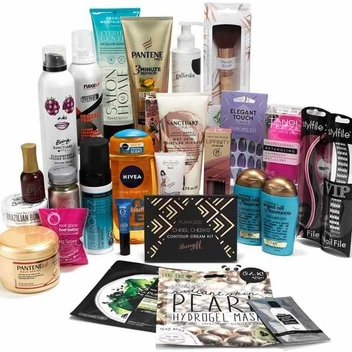 Pamper yourself with a free bundle of beauty products