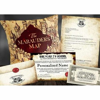Free personalised Hogwarts Acceptance Pack