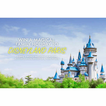 Take a magical trip to Disneyland Paris for free