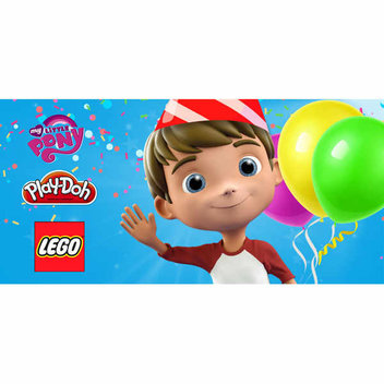 Free kids goodie bag at Smyths Toys