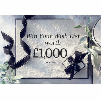Win your Christmas wish list worth £1,000