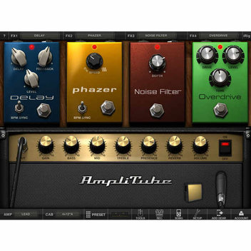 Free app AmpliTube for iPad