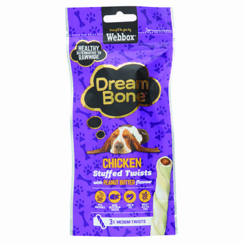 Free Chicken & Peanut Dog Treat from Dreambone