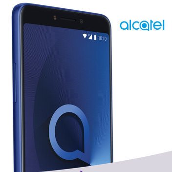 Win an Alcatel 3V Smartphone in Spectrum Blue
