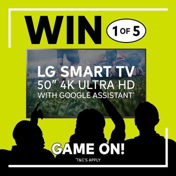 5 LG Smart TV 50