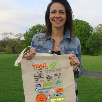 Free Trail Magazine Litter Heroes Bag