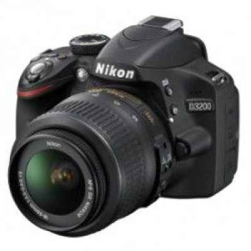 Win a 24 MP Nikon D3200 kit