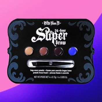 Pick up a free Kat Von D 24 hour Super Brow kit