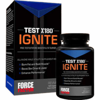 Upgrade your workout with a free sample of Test X180 Ignite
