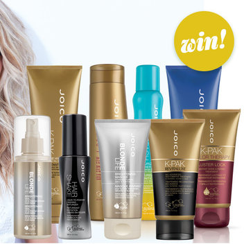 Shake it off with a free JOICO styling & haircare bundle