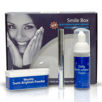 Take home a free Weekly Teeth-Brighten Powder sample