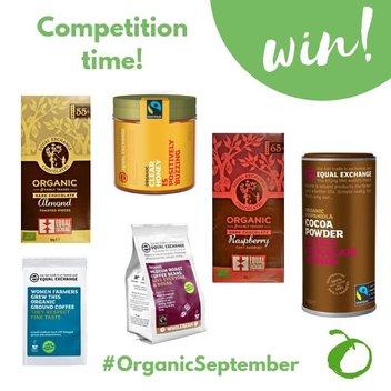 Get a free Organic prize bundle