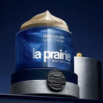 Receive a free La Prairie precious caviar skincare miniature