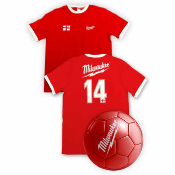 Free Milwaukee Tools Football Jersey and Ball