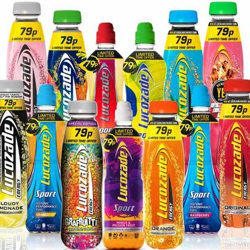 Try Lucozade for free