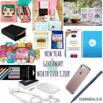 New Year Essentials Giveaway worth over £280