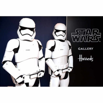 Free Star Wars Gallery at Harrod's