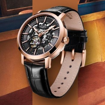 Win the ultimate party suit & a Greenwich Skeleton Rotary watch