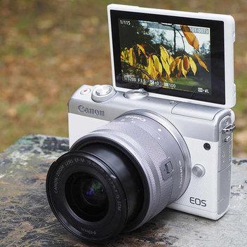 Win a EOS M100 Canon camera