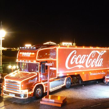 The Coca-Cola Christmas Truck Tour 2018