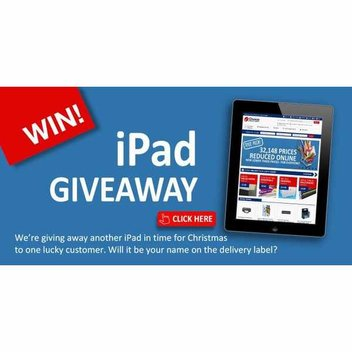 Choice Stationary iPad giveaway