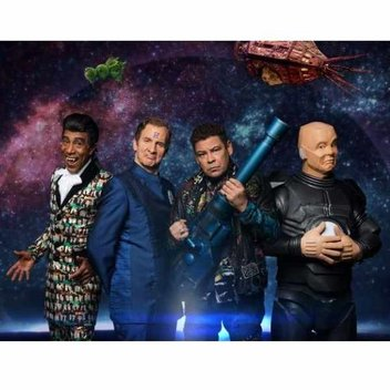 Win Red Dwarf Box Set, Signed T-Shirt And Smart TV With Dave