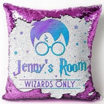 Claim a free personalised Harry Potter Cushion