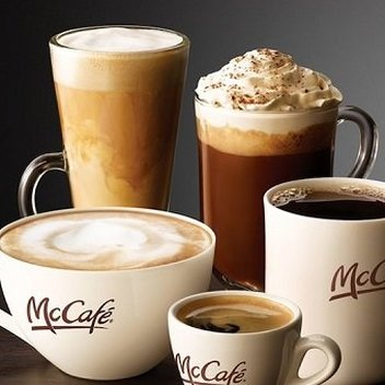 Claim a free hot drink on McCafe