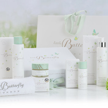 Win Mother & Baby Skincare from Little Butterfly London