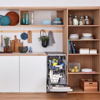 Win an Indesit Slimline Push&Go Dishwasher