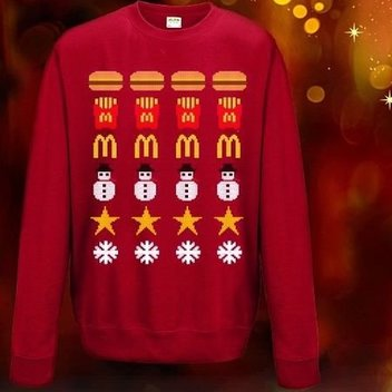 Free McDonalds Christmas Jumpers