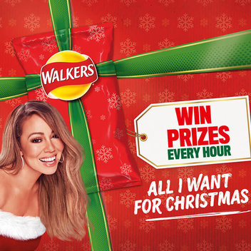 Redeem free Christmas prizes with Walkers