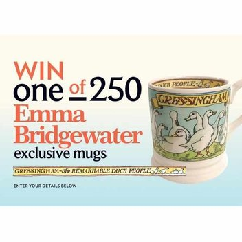 250 free Emma Bridgewater exclusive mugs