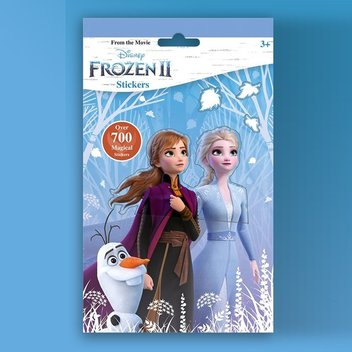 Free Frozen 2 Sticker Book