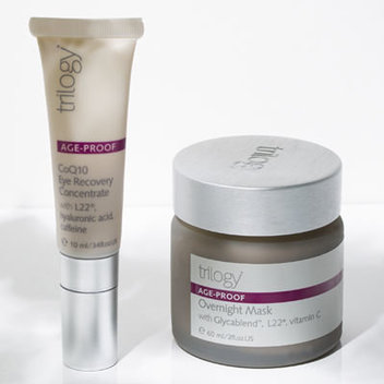 Haul in a free bundle of Trilogy perfectly natural Age-Proof skincare