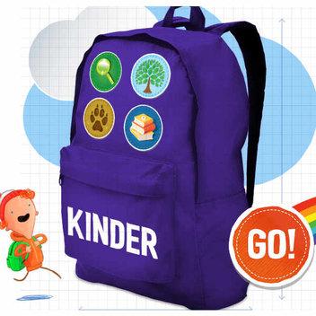 Free Kinder Rucksack for kids