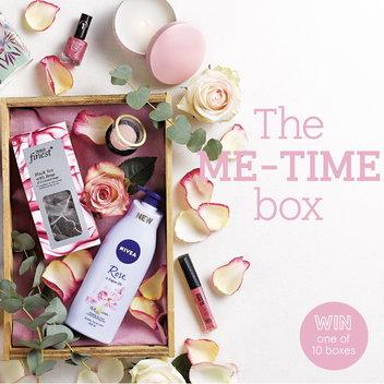 Take home a free Me-Time Box
