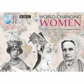 Free World-changing women booklet of postcards